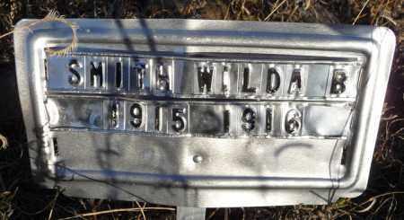 SMITH, WILDA BELLE - Chase County, Nebraska | WILDA BELLE SMITH - Nebraska Gravestone Photos