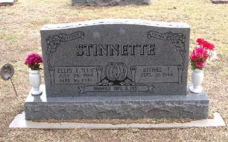 DANIELS STINNETTE, ETHEL ERDEANA - Chase County, Nebraska | ETHEL ERDEANA DANIELS STINNETTE - Nebraska Gravestone Photos