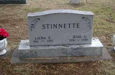 BRABHAM STINNETTE, LAURA ESTHER - Chase County, Nebraska | LAURA ESTHER BRABHAM STINNETTE - Nebraska Gravestone Photos