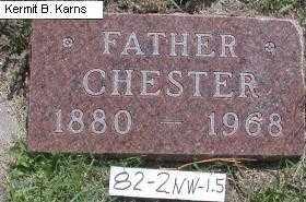 STOCK, CHESTER CLAIR - Chase County, Nebraska   CHESTER CLAIR STOCK - Nebraska Gravestone Photos