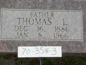STURTEVANT, THOMAS L. - Chase County, Nebraska | THOMAS L. STURTEVANT - Nebraska Gravestone Photos