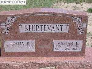 STURTEVANT, NORMA BLANCHE - Chase County, Nebraska   NORMA BLANCHE STURTEVANT - Nebraska Gravestone Photos