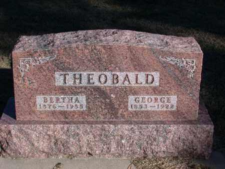 THEOBALD, GEORGE - Chase County, Nebraska | GEORGE THEOBALD - Nebraska Gravestone Photos