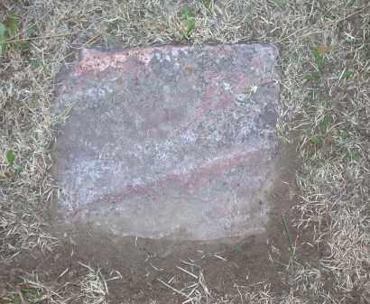 UNKNOWN, FLAT ROCK - Chase County, Nebraska | FLAT ROCK UNKNOWN - Nebraska Gravestone Photos