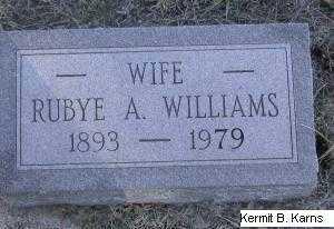 THOMAS WALTON, RUBYE A. - Chase County, Nebraska | RUBYE A. THOMAS WALTON - Nebraska Gravestone Photos