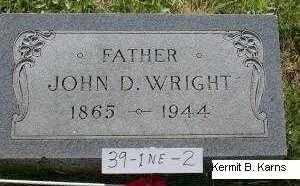 WRIGHT, JOHN DOUGLAS - Chase County, Nebraska | JOHN DOUGLAS WRIGHT - Nebraska Gravestone Photos