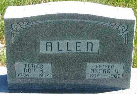 ALLEN, DOLL  A. - Cherry County, Nebraska | DOLL  A. ALLEN - Nebraska Gravestone Photos