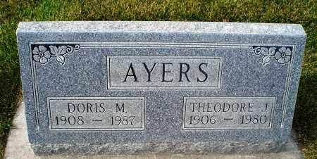 AYERS, DORIS - Cherry County, Nebraska   DORIS AYERS - Nebraska Gravestone Photos
