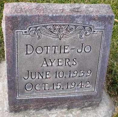 AYERS, DOTTIE-JO - Cherry County, Nebraska | DOTTIE-JO AYERS - Nebraska Gravestone Photos