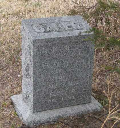 BADER, ETHEL D. - Cherry County, Nebraska | ETHEL D. BADER - Nebraska Gravestone Photos