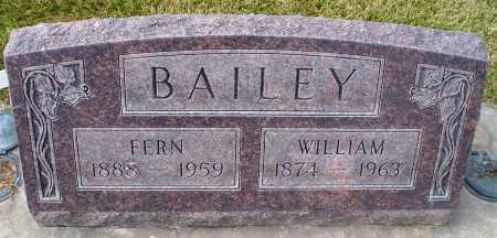 BAILEY, WILLIAM - Cherry County, Nebraska | WILLIAM BAILEY - Nebraska Gravestone Photos