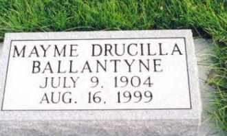 BALLANTYNE, MAYME - Cherry County, Nebraska   MAYME BALLANTYNE - Nebraska Gravestone Photos