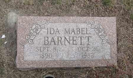 BARNETT, IDA MABEL - Cherry County, Nebraska | IDA MABEL BARNETT - Nebraska Gravestone Photos