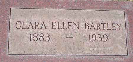 BARTLEY, CLARA ELLEN - Cherry County, Nebraska | CLARA ELLEN BARTLEY - Nebraska Gravestone Photos