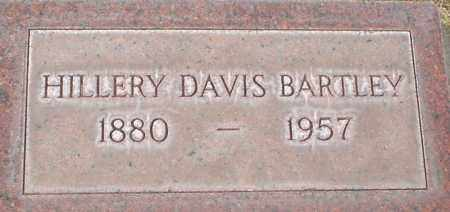 BARTLEY, HILLERY DAVIS - Cherry County, Nebraska | HILLERY DAVIS BARTLEY - Nebraska Gravestone Photos