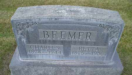 BEEMER, RETTA - Cherry County, Nebraska | RETTA BEEMER - Nebraska Gravestone Photos