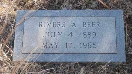 BEER, RIVERS  A. - Cherry County, Nebraska   RIVERS  A. BEER - Nebraska Gravestone Photos