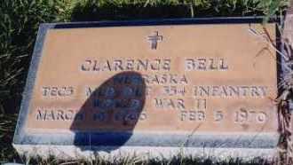 BELL, CLARENCE - Cherry County, Nebraska   CLARENCE BELL - Nebraska Gravestone Photos