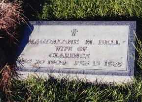 BELL, MAGDALENE - Cherry County, Nebraska   MAGDALENE BELL - Nebraska Gravestone Photos