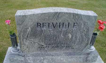 BELVILLE, CHARLES A. - Cherry County, Nebraska | CHARLES A. BELVILLE - Nebraska Gravestone Photos