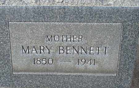 BENNETT, MARY - Cherry County, Nebraska | MARY BENNETT - Nebraska Gravestone Photos
