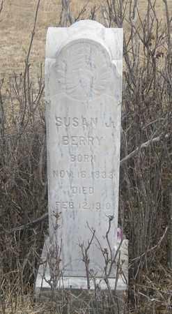 BERRY, SUSAN  J. - Cherry County, Nebraska   SUSAN  J. BERRY - Nebraska Gravestone Photos
