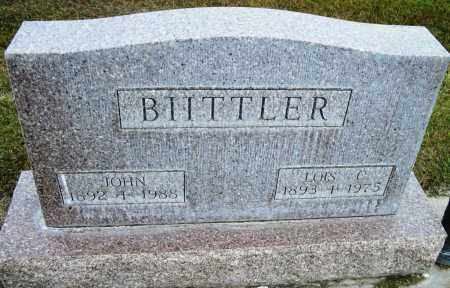 BIITTLER, JOHN - Cherry County, Nebraska | JOHN BIITTLER - Nebraska Gravestone Photos