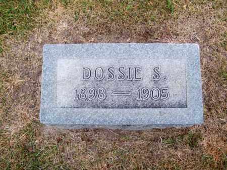 BISHOP, DOSSIE S. - Cherry County, Nebraska   DOSSIE S. BISHOP - Nebraska Gravestone Photos