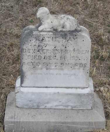 BOWDEN, KATIE MAY - Cherry County, Nebraska | KATIE MAY BOWDEN - Nebraska Gravestone Photos