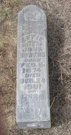 BOWERS, EFFIE - Cherry County, Nebraska | EFFIE BOWERS - Nebraska Gravestone Photos