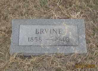 BRISTOL, ERVINE - Cherry County, Nebraska   ERVINE BRISTOL - Nebraska Gravestone Photos