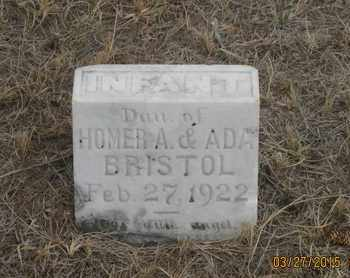 BRISTOL, INFANT DAU - Cherry County, Nebraska | INFANT DAU BRISTOL - Nebraska Gravestone Photos
