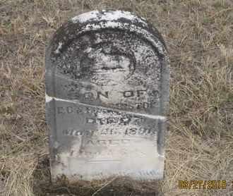 BRISTOL, INFANT SON - Cherry County, Nebraska | INFANT SON BRISTOL - Nebraska Gravestone Photos