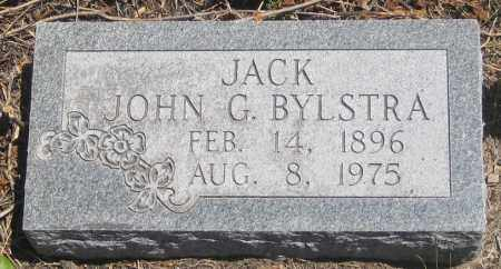 "BYLSTRA, JOHN  G.  ""JACK"" - Cherry County, Nebraska | JOHN  G.  ""JACK"" BYLSTRA - Nebraska Gravestone Photos"