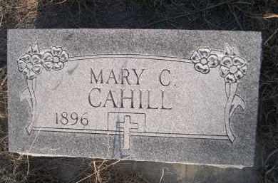 CAHILL, MARY C. - Cherry County, Nebraska | MARY C. CAHILL - Nebraska Gravestone Photos
