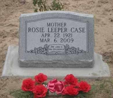 CASE, ROSIE - Cherry County, Nebraska | ROSIE CASE - Nebraska Gravestone Photos