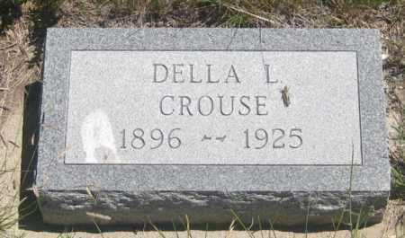 CROUSE, DELLA  L. - Cherry County, Nebraska   DELLA  L. CROUSE - Nebraska Gravestone Photos