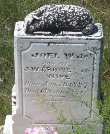 CROWE, JOEL W.  JR - Cherry County, Nebraska | JOEL W.  JR CROWE - Nebraska Gravestone Photos