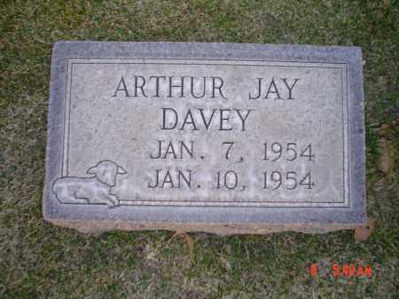 DAVEY, ARTHUR JAY - Cherry County, Nebraska | ARTHUR JAY DAVEY - Nebraska Gravestone Photos