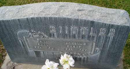 BIITTLER, GEORGE - Cherry County, Nebraska | GEORGE BIITTLER - Nebraska Gravestone Photos