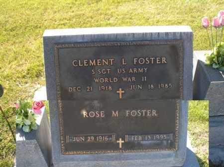 FOSTER, ROSE M. - Cherry County, Nebraska | ROSE M. FOSTER - Nebraska Gravestone Photos