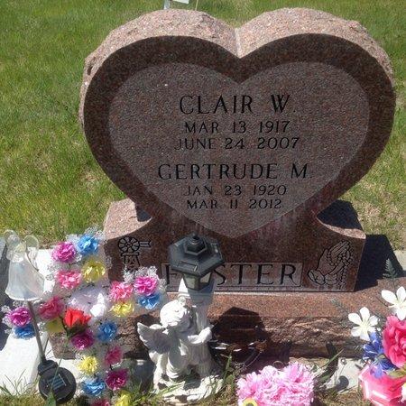 FOSTER, CLAIR - Cherry County, Nebraska | CLAIR FOSTER - Nebraska Gravestone Photos