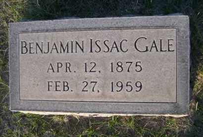 GALE, BENJAMIN ISSAC - Cherry County, Nebraska   BENJAMIN ISSAC GALE - Nebraska Gravestone Photos