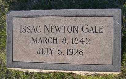 GALE, ISSAC NEWTON - Cherry County, Nebraska | ISSAC NEWTON GALE - Nebraska Gravestone Photos