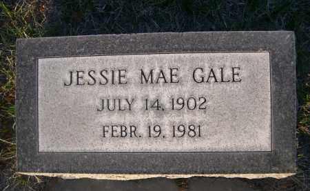 GALE, JESSIE MAE - Cherry County, Nebraska   JESSIE MAE GALE - Nebraska Gravestone Photos