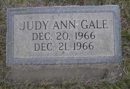 GALE, JUDY ANN - Cherry County, Nebraska | JUDY ANN GALE - Nebraska Gravestone Photos