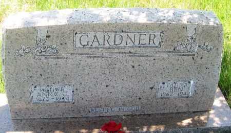 GARDNER, BEN - Cherry County, Nebraska   BEN GARDNER - Nebraska Gravestone Photos