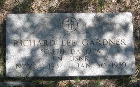 GARDNER, RICHARD  LEE - Cherry County, Nebraska | RICHARD  LEE GARDNER - Nebraska Gravestone Photos