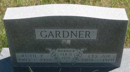 GARDNER, LES  JOE - Cherry County, Nebraska   LES  JOE GARDNER - Nebraska Gravestone Photos