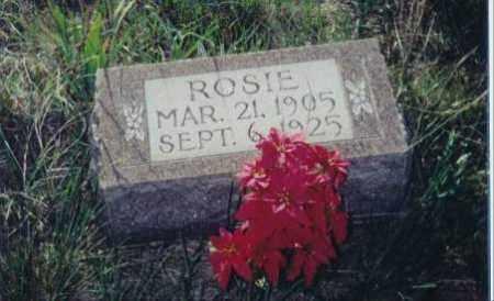 GARNER, ROSIE - Cherry County, Nebraska   ROSIE GARNER - Nebraska Gravestone Photos
